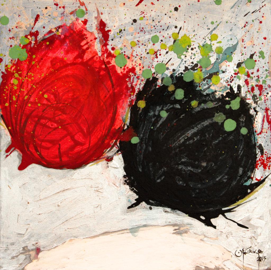 Acrylic on Canvas 50 x 50 cm 2013
